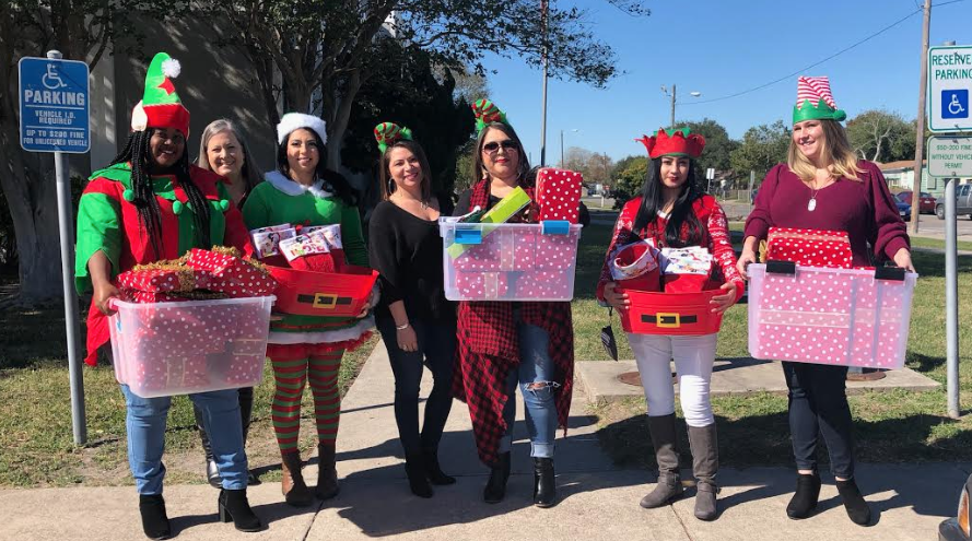 Angel Tree Gift Donations At Crockett Elementary