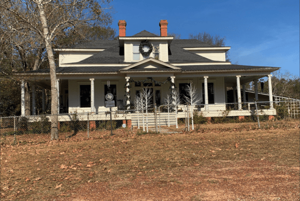 old house in texas