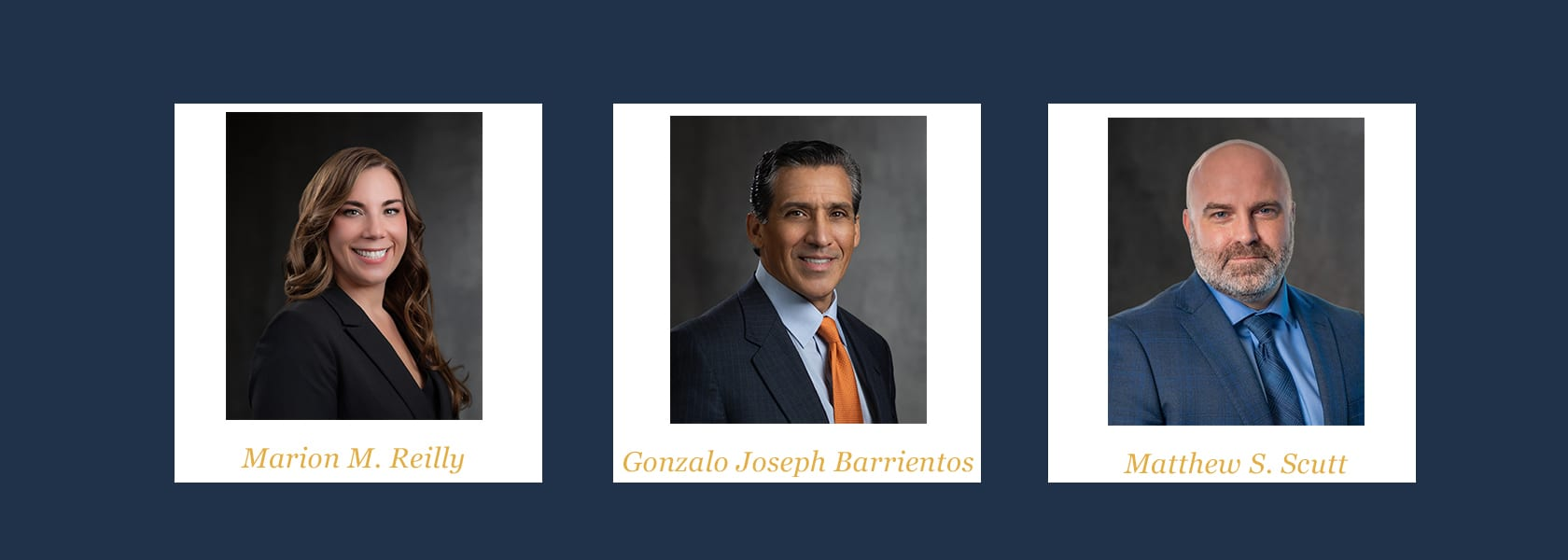 Hilliard Martinez Gonzales Names Three New Partners to Rapidly Expanding Litigation Firm